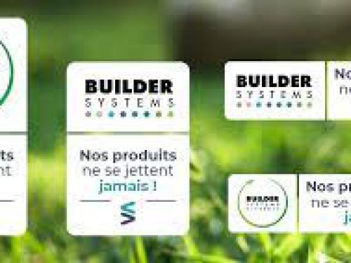 """""""Nos produits ne se jettent jamais"""" : l'étendard de Builder est levé."""